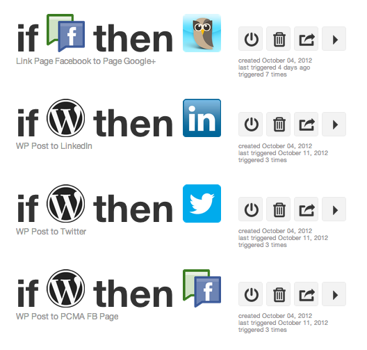 Social Media on Autopilot with IFTTT