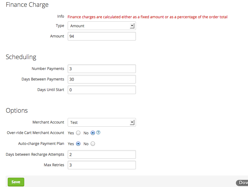 [7] Setting up Infusionsoft payment plan multiple payments